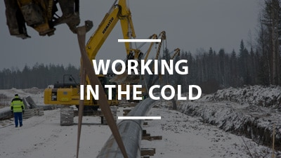 Working in the cold